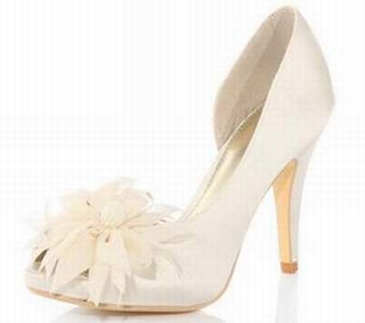 ca756d227d8f58 chaussure mariee ivoire besson
