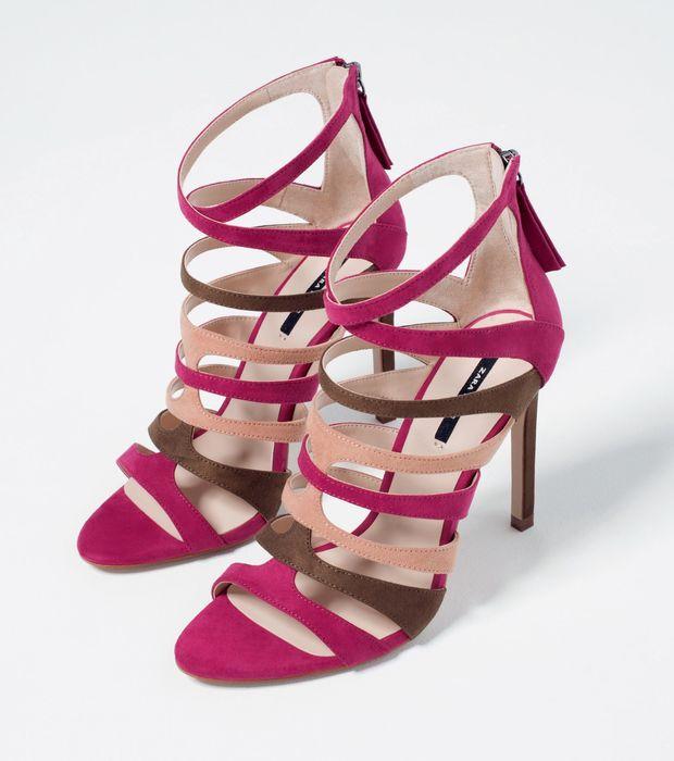 chaussures zara kaki,chaussure zara ancienne collection,chaussure zara fille